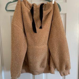 Teddy jacket hoodie